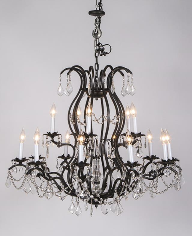 15 light ironcrystal chandelier rentals charlotte nc where to where to find chandelier 15 light iron crystal in charlotte aloadofball Choice Image